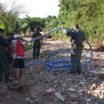 Utilizaban mangueras para el contrabando de aceite hacia Bolivia